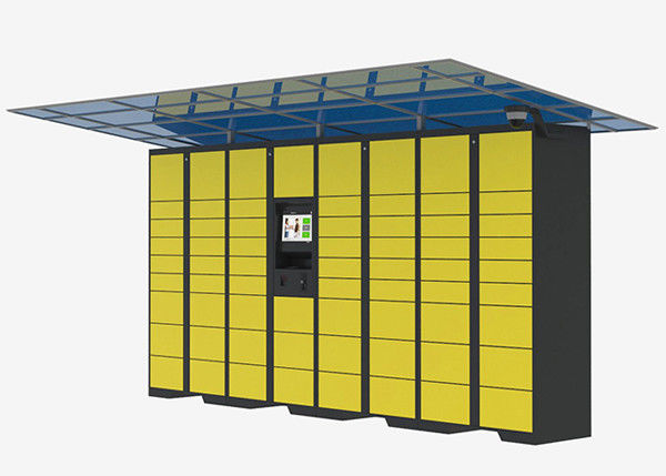 Intelligent Locker Delivery Service Lockers , Network Remote Control Post Parcel Locker