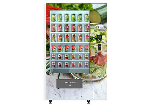 University School Intelligent Salad Vending Machine , Automated Salad Vending Tower