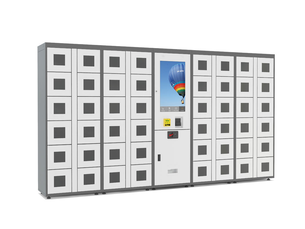 Remote Control Combo Vending Machines Outdoor Locker Systems With LED Lights